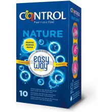 PRESERVATIVOS CONTROL NATURE EASY WAY SOLUTION 10UDS