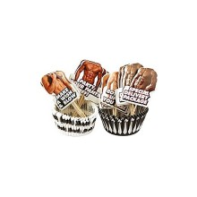 SET DE MOLES CUPCAKE HOT BODY - 24 UDS