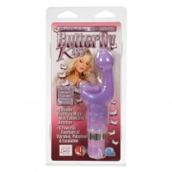 PLATINUM EDITION ESTIMULADOR CLITORIS Y PUNTO G SERIE KISS DE CALIFORNIA EXOTIC NOVELTIES