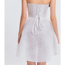 CORSET CON FALDA TEENAGER BLANCO
