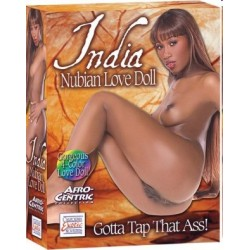 MUÑECA HINCHABLE NUBIAN INDIA DE CALIFORNIA EXOTIC NOVELTIES