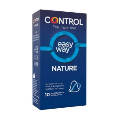 CONTROL PRESERVATIVOS NEW NATURE EASY WAY - 10UDS