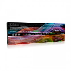 INCIENSO CON FEROMONAS 20 STICKS DE SANINEX AROMA EROTICO