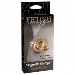PINZAS PARA PEZONES COLECCION FETISH FANTASY GOLD DE PIPEDREAM