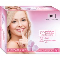 TAMPONES HOT INTIMATE CARE SOFT 10 UNID.