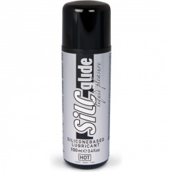LUBRICANTE A BASE DE SILICONA HOT SILC GLIDE 100 ML