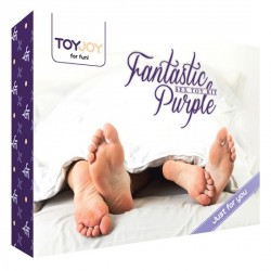 KIT DE JUGUETES SEXUALES FANTASTIC PURPLE