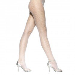 PANTIS REJILLA DE COLORES DE LEG AVENUE COLOR BLANCO