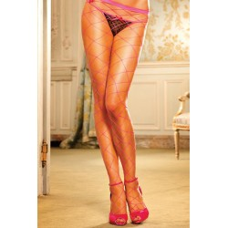 PANTYS DE RED DE BACI LINGERIE COLOR ROSA