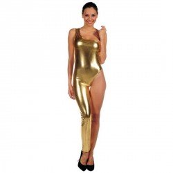INTIMAX DISFRAZ STRIPPER DORADO