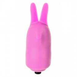 POWER RABBIT ESTIMULADOR VIBRADOR MANUAL DE SHOTS COLOR ROSA