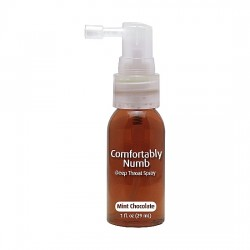 COMFORTABLY NUMB SPRAY GARGANTA PROFUNDA SABOR CHOCOLATE CON MENTA