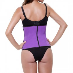 CORSET LATEX APPEARANCE MORADO