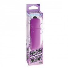 BALA VIBRADORA NEON LUV TOUCH DE PIPEDREAM COLOR LILA