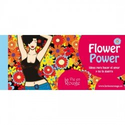 LA VIE EN ROUGE TALONARIO FLOWER POWER